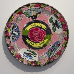 Kate Walchuk, work from GOOD SHAPE, A show of personal souvenirs. Seeds Gallery April 17 - May 18 2013. Photo: Katie McKay