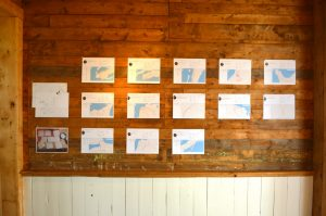 Maps by Marie-Line Leblanc and Sara Dignard