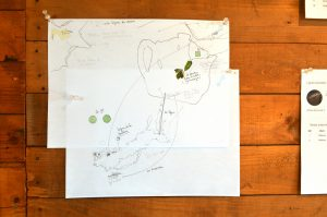 Maps by Marie-Line Leblanc and Sara Dignard.