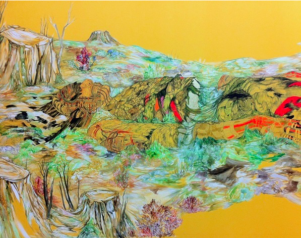 Marigold Santos, re-grounding (detail), 2011 / marigoldsantos.com
