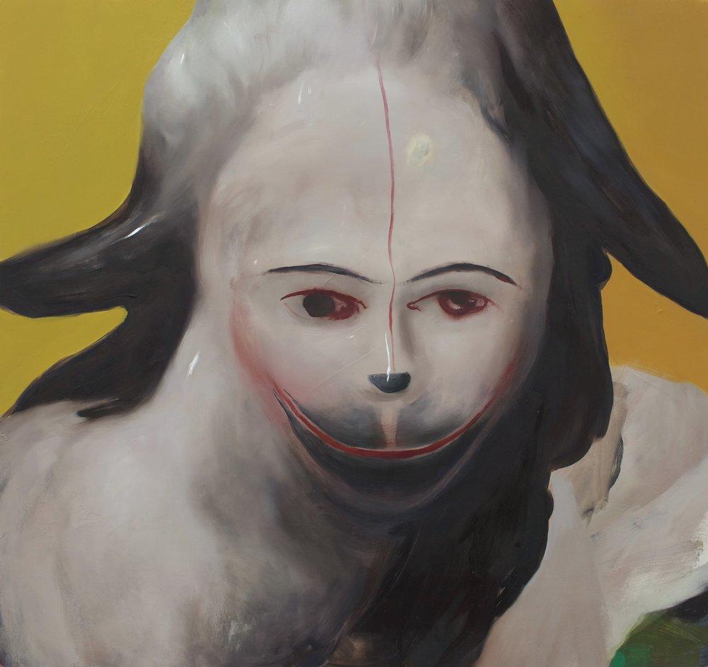 Ambera Wellmann painting