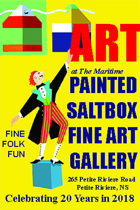 Maritime Painted Saltbox