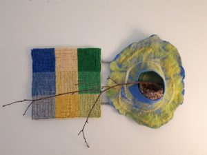 From My Father's Workshop, a Fibre Arts Exhibition